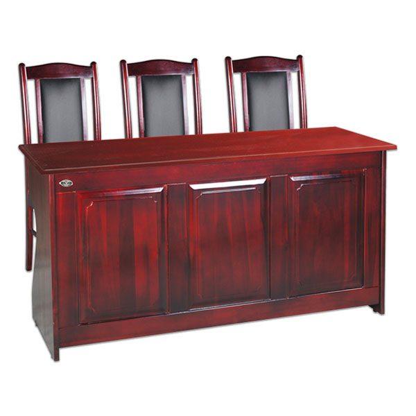 bàn hội trường , bàn hội trường gỗ tự nhiên hòa phát