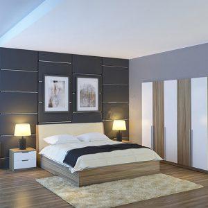 Bộ giường tủ Hòa phát GN304