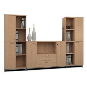 Tủ ghép HR1800-2B và HR950-3B