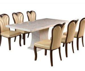 Bàn ghế ăn gia đình hòa phát BA125