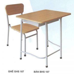Bàn ghế học sinh BHS107