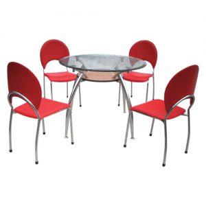 Bàn ghế ăn hòa phát B53