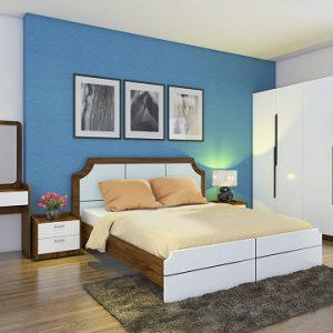 Bộ giường tủ Hòa phát GN305