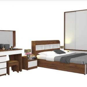Bộ giường ngủ Hòa Phát GN307