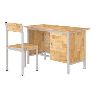 Bộ bàn ghế giáo viên Hòa Phát BGV103G + GGV103G